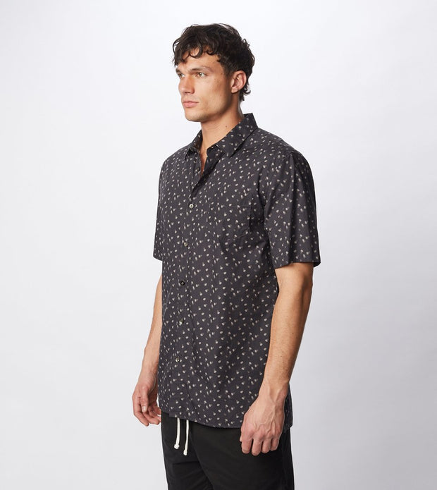 Fan S/S Shirt - Washed Black