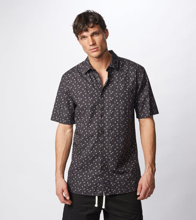 Zanerobe Fan S/S Shirt Washed Black