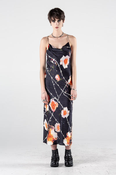 Chain Gang Slip Dress Floral Print | Shop Stolen Girlfriends Club SGC