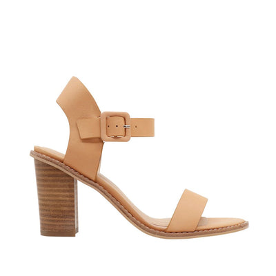 Gracie - Tan Leather | Shop Nude Footwear at IKON Arrowtown NZ