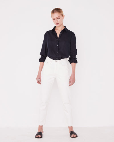 High Waisted Rigid Jean Vintage White | Shop Assembly Label at IKON