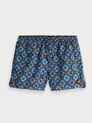 Mens Nylon Swim Shorts - Blue