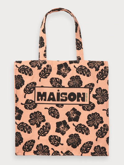 Maison Scotch Artwork Tote