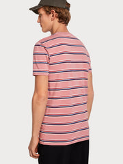 Mens Cotton T-Shirt - Pink