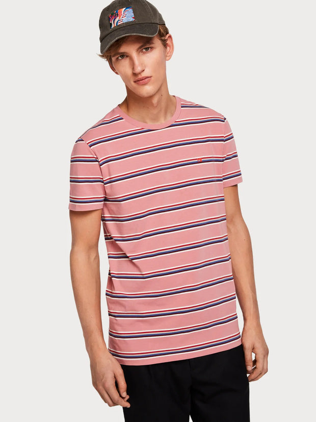 Mens Cotton T-Shirt Pink