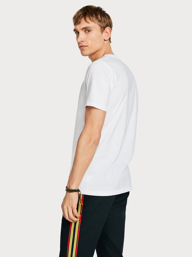 Mens Solid T-Shirt - White