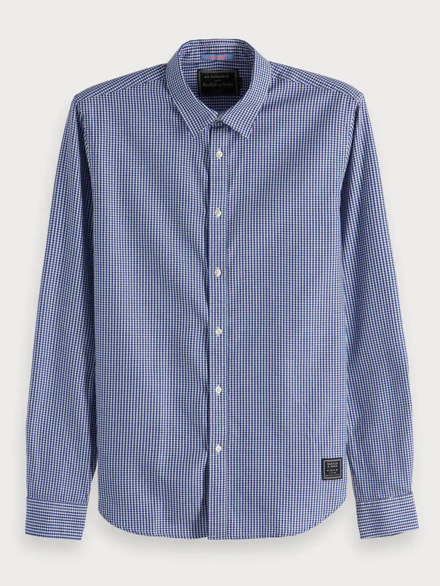 Mens Classic Shirt Regular Fit - Blue