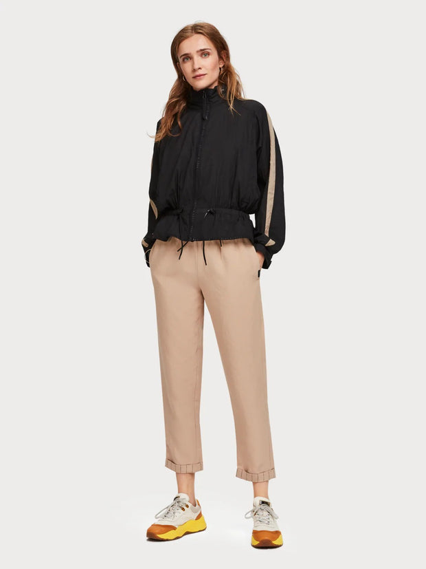 Womens Tencel Trousers - Sand