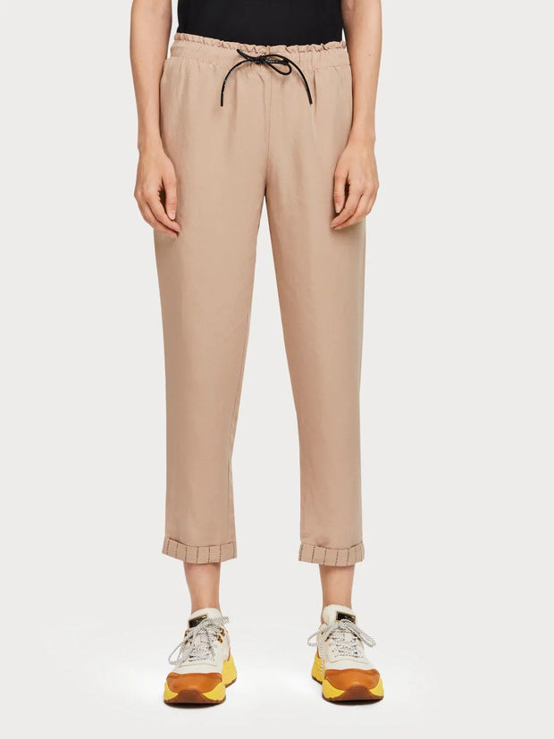Womens Tencel Trousers - Sand shop online or in store at IKON