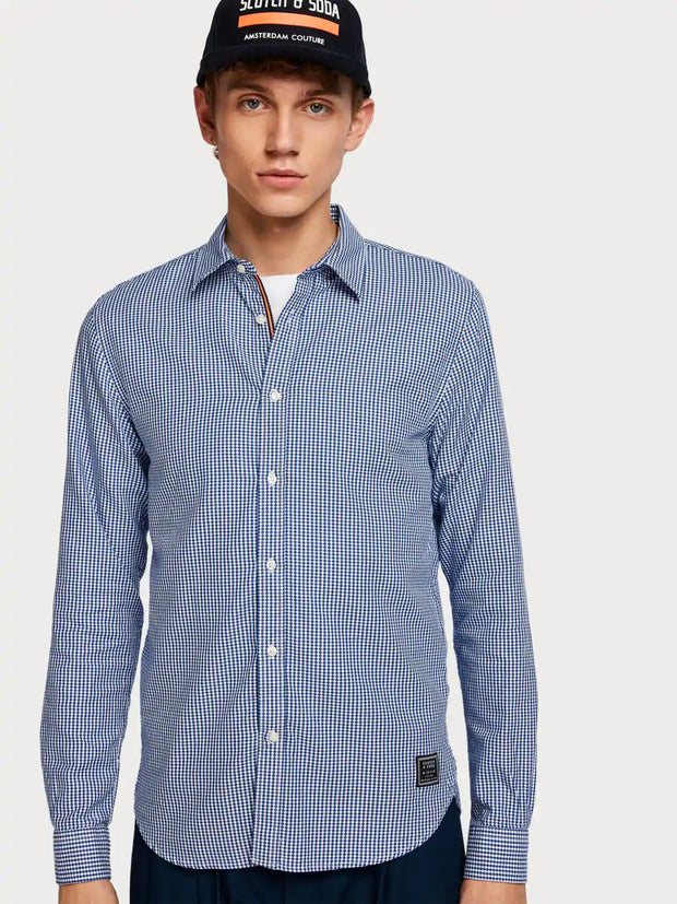 Mens Classic Shirt Regular Fit Blue