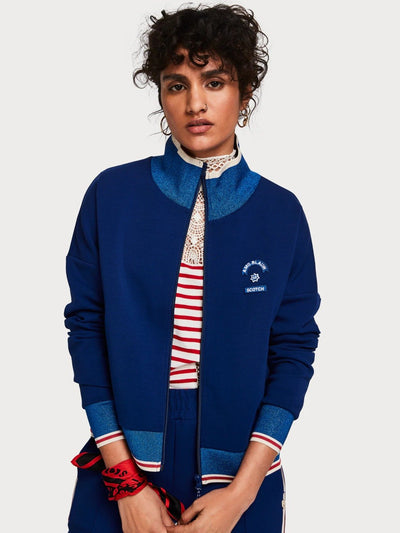 Womens Logo Tape Track Jacket - Combo A shop online or in store at IKON