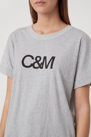 C&M Huntington Tee - Grey