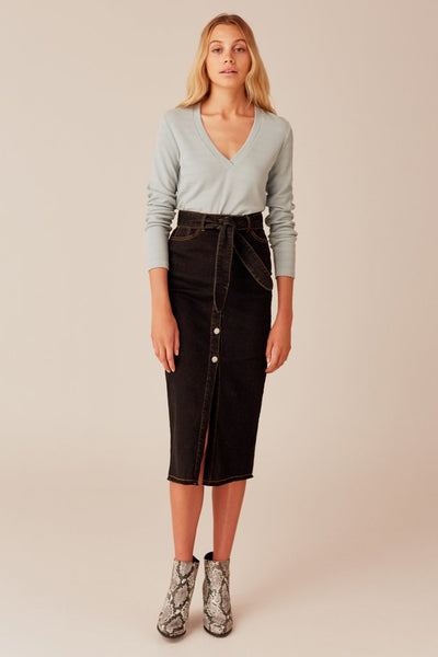 Instance Skirt - Washed Black