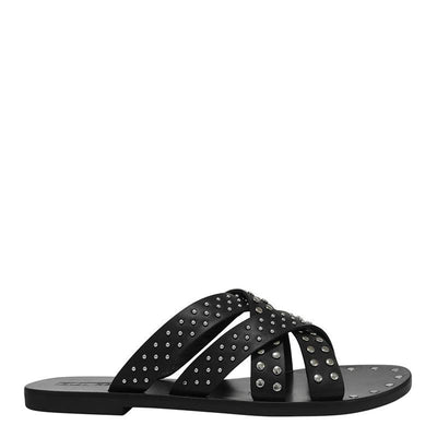 Irene Slide - Black | Shop Sol Sana at IKON in Arrowtown, NZ