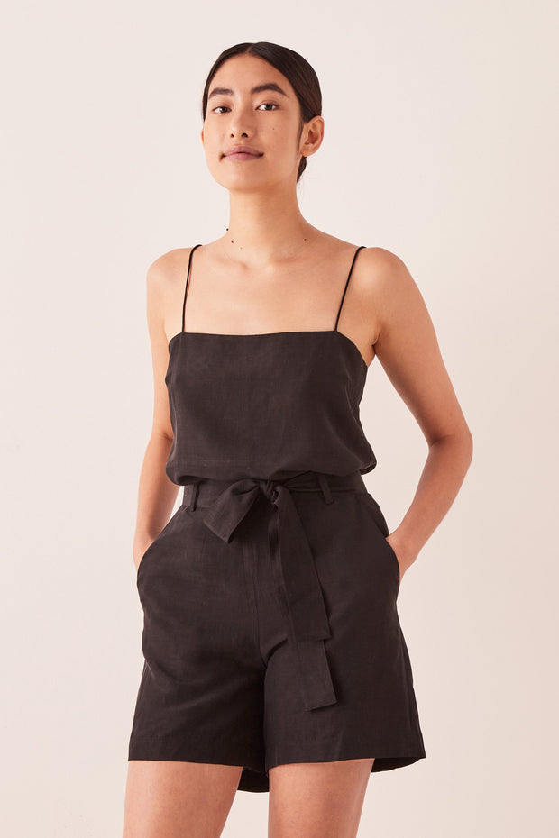 Assembly Label Ivy Short - Black | Shop Assembly Label at IKON