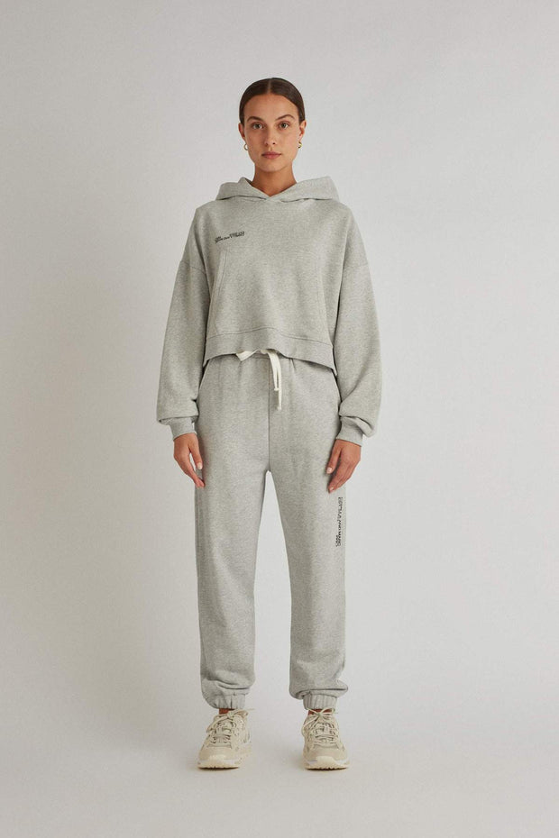 C&M Jordan Logo Hoodie - Grey | Shop C&M Camilla and Marc at IKON NZ