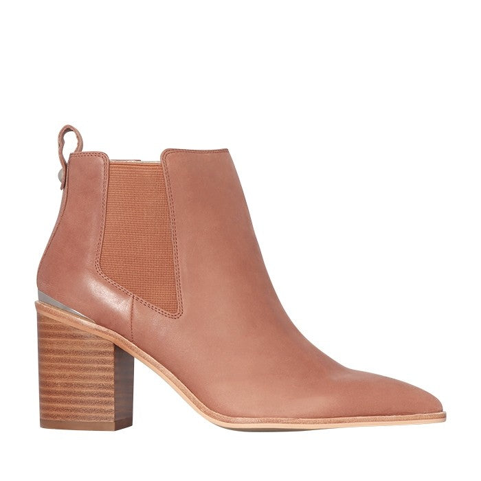 Khloe Boot Mocca Leather | Shop Nude Footwear at IKON Arrowtown NZ