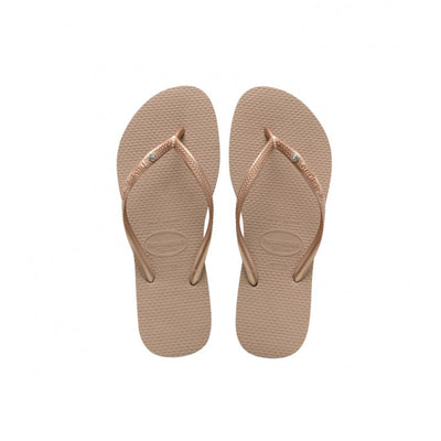 Kids Slim SW Crystal - Rose Gold | shop Havaianas at IKON in Arrowtown, NZ