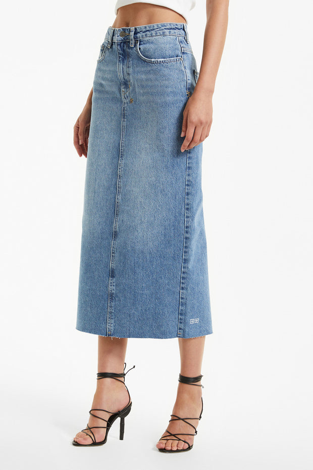 Ksubi Graduate Midi Skirt | Shop Ksubi at IKON in Arrowtown, NZ