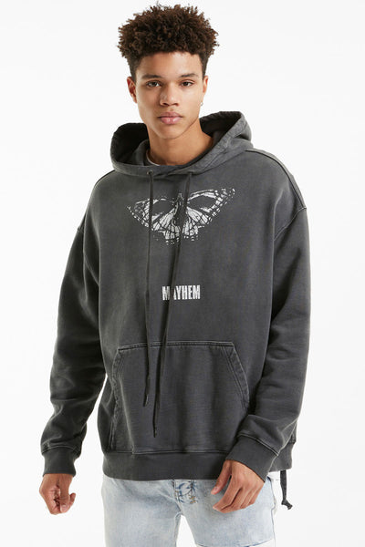 Ksubi Mens Mayhem Biggie Hoodie | Shop Ksubi at IKON in Arrowtown, NZ