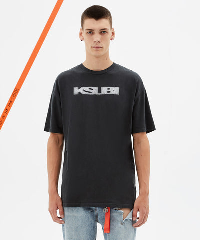 Ksubi Sign of the times SS Tee Black