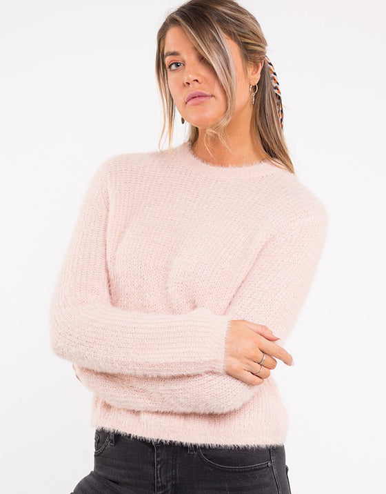Lillian Knit Tea Rose | Shop All About Eve at IKON, Arrowtown NZ