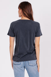 La Rosa Tee Charcoal | Shop Amuse Society at IKON Arrowtown NZ