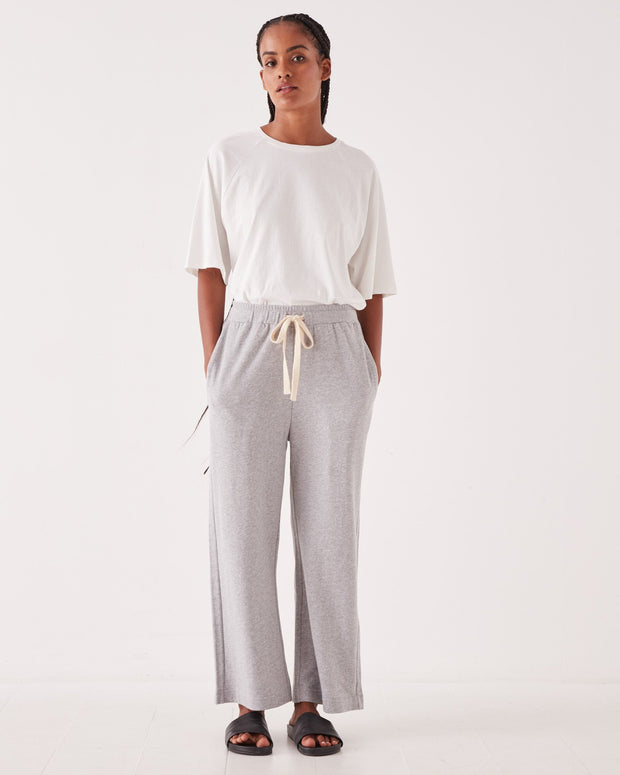 Womens Lahni Wide Pant - Grey Marle