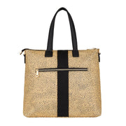 Lexington Zip Tote - Cheetah