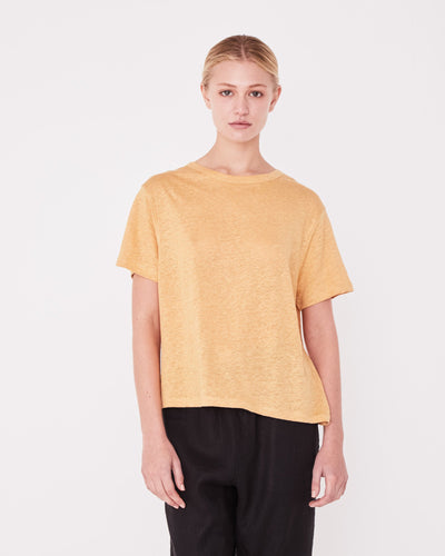 Linen Tee Amber | Shop Assembly Label at IKON