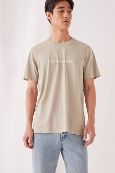 Assembly Label Mens Logo Tee | Shop at IKON Arrowtown NZ