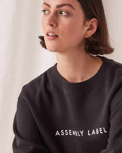 Womens Logo Fleece Black | Shop Assembly Label at IKON NZ