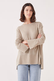 Assembly Label Lora Knit - Washed Khaki | Shop at IKON NZ