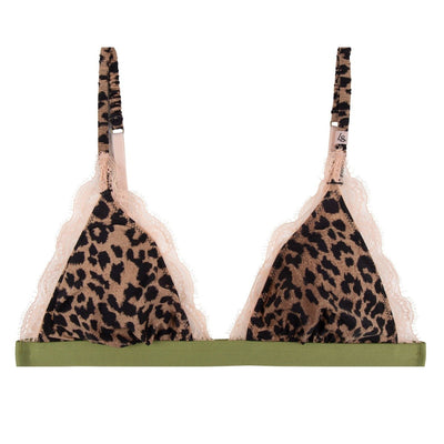 Filippa Bralette Classic Leopard | Shop Love Stories Lingerie at IKON