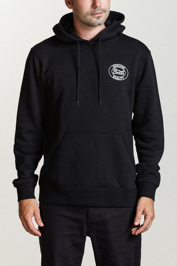 Merced Hood Fleece - Black