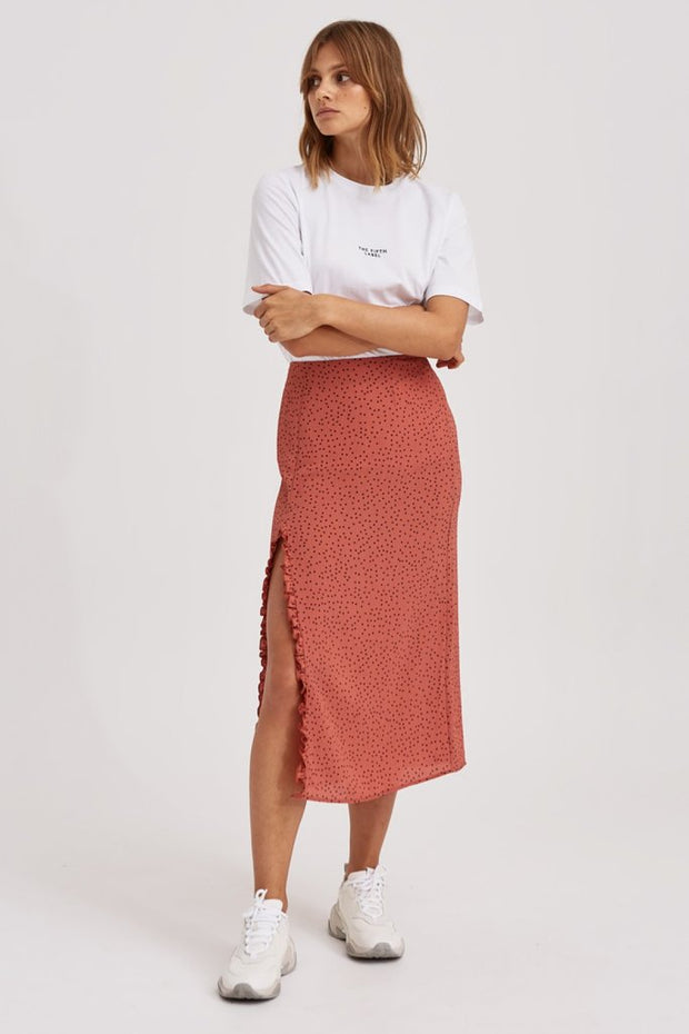 Montana Skirt - Spice with Mocha