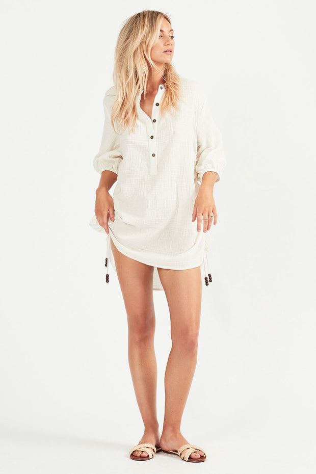 Tigerlily Marsi Shirt Dress Blanc