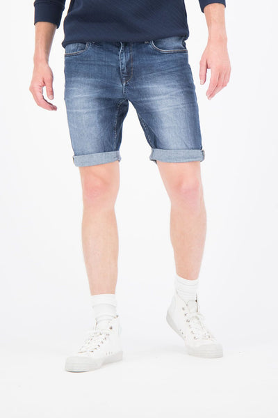 Mens Russo Short Blue | Shop Garcia Online at IKON NZ