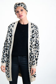 Womens Cardigan Animal Print | Shop Garcia Online at IKON NZ