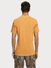 Mens Garment Dyed T-Shirt - Sunflower Yellow
