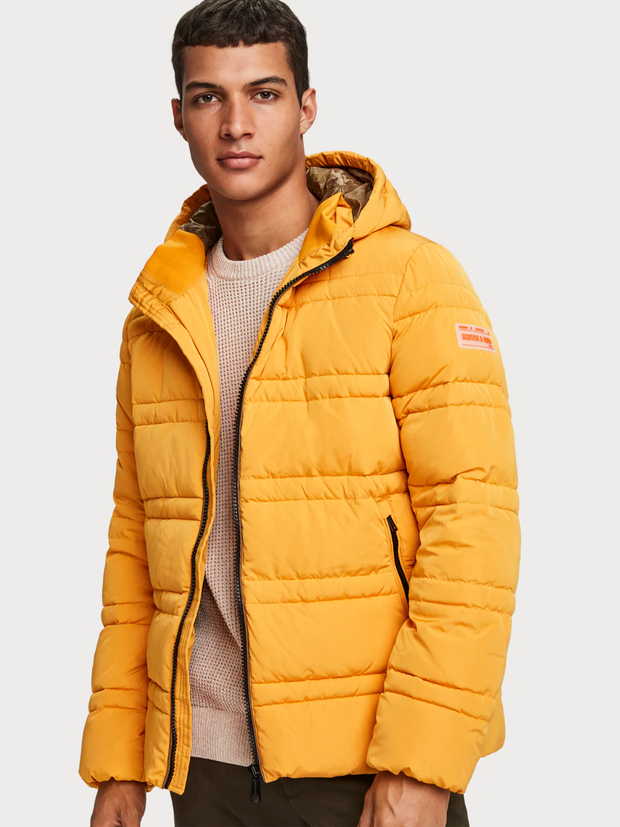 Men's Quilted Puffer Jacket | Shop Scotch and Soda online at IKON NZ