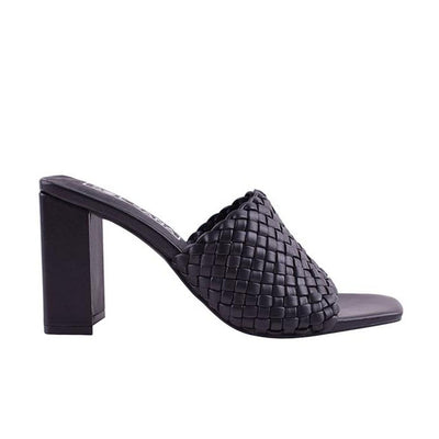 Monroe Heel - Black | Shop Sol Sana at IKON NZ