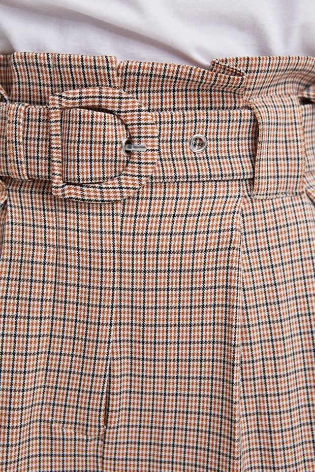 Nevada Check Pant - Tan/Black