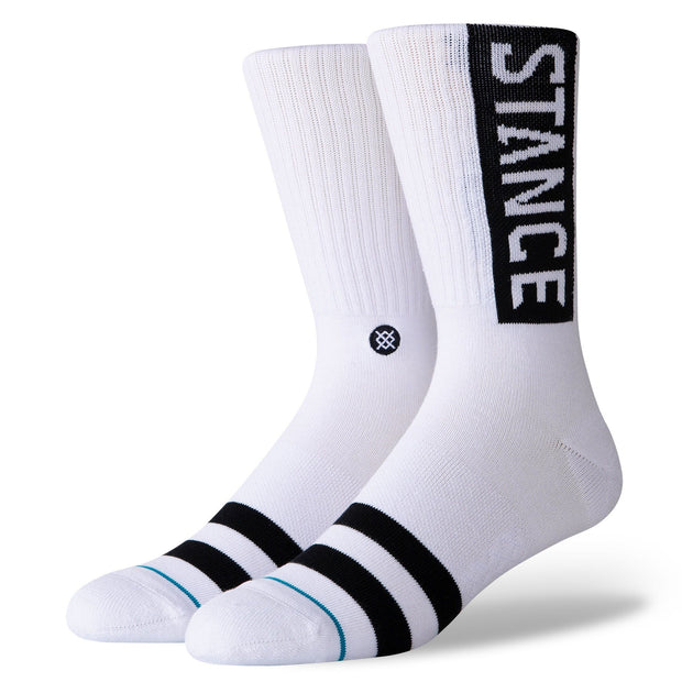 Stance OG Socks White | Shop Stance online & instore at IKON