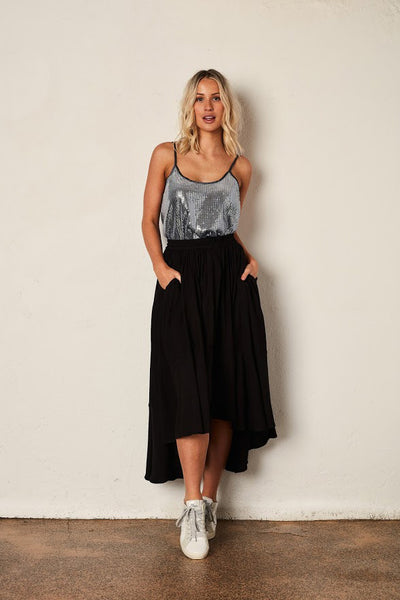 The Full Circle Skirt - Black | Shop The Others at IKON NZ