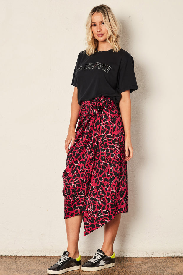The Giraffe Wrap Skirt -  Hot Pink | Shop The Others at IKON NZ