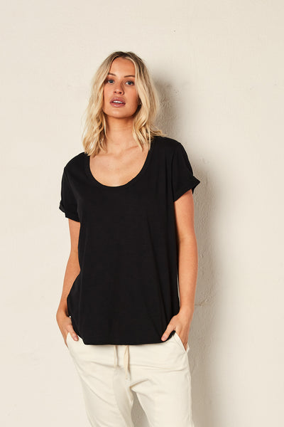 The Staple Deep Relaxed Tee - Black | Shop The Others at IKON NZ