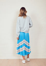 The Sunray Skirt - Blue Horizon