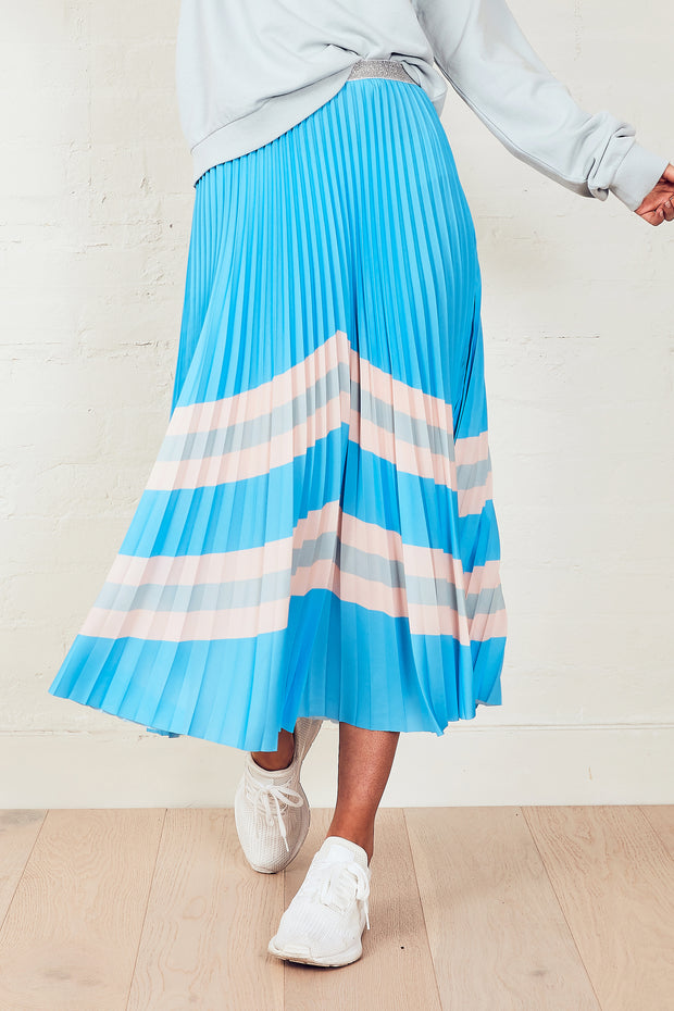 The Sunray Skirt - Blue Horizon | Shop The Others at IKON NZ