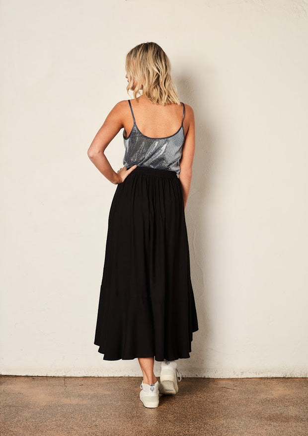 The Full Circle Skirt - Black